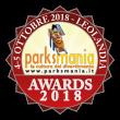 Parksmania Awards 2018: i premi ai Parchi Europei
