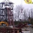 Plopsaland De Panne: foto costruzione nuova water ride