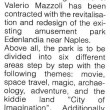 Edenlandia: concept del nuovo parco