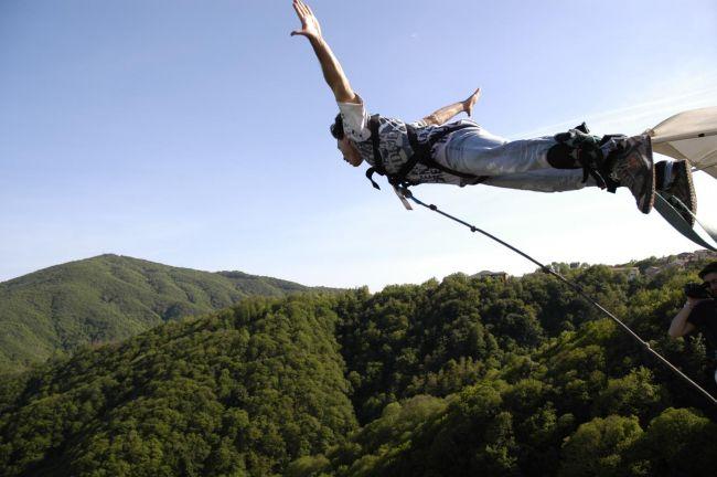 Bungee Jumping California >> Parco Avventura Veglio: aperta la nuova stagione - Parksmania