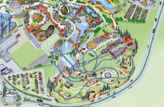 Cartina Europa Park.Europa Park Ufficializzato Il Nuovo Coaster Parksmania