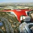 Ferrari World Abu Dhabi: completata la copertura
