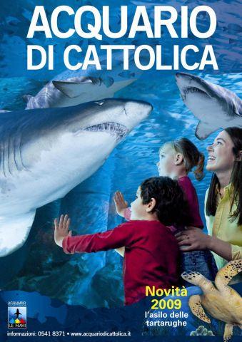 Acquario di cattolica le novit 2009 parksmania for Acquario di tartarughe