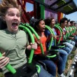 "Six Flags Magic Mountain: le immagini da brivido di ""Lex Luthor: Drop of Doom"""