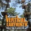 "Parco Avventura-Salice Terme: ecco ""Vertical Labyrinth"""
