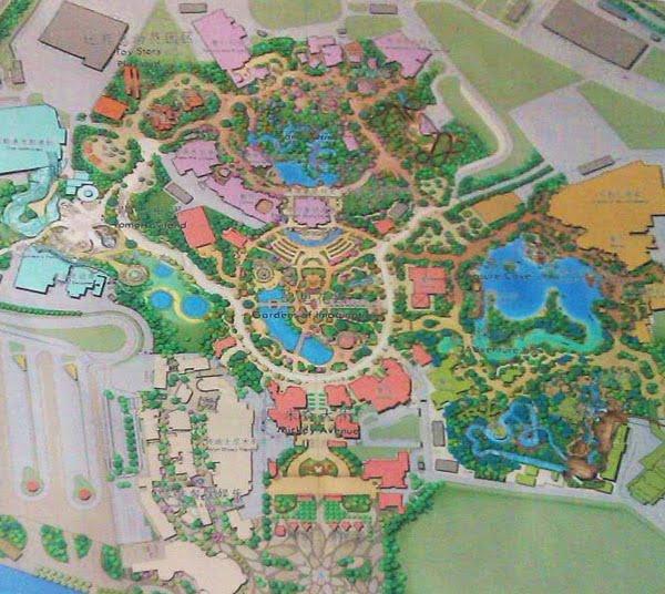 Shanghai Disneyland Scovato Il Primo Masterplan Del Parco