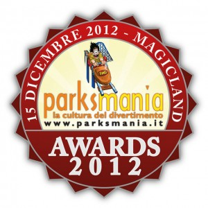 Logo Parksmania Awards 2012
