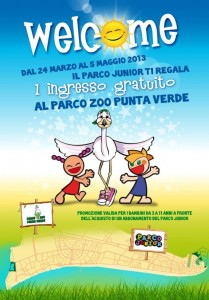 Welcome Parco Junior - Parco Zoo