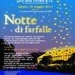 """Casa delle Farfalle & Co: """"Notte di Farfalle"""" il 18 maggio"""