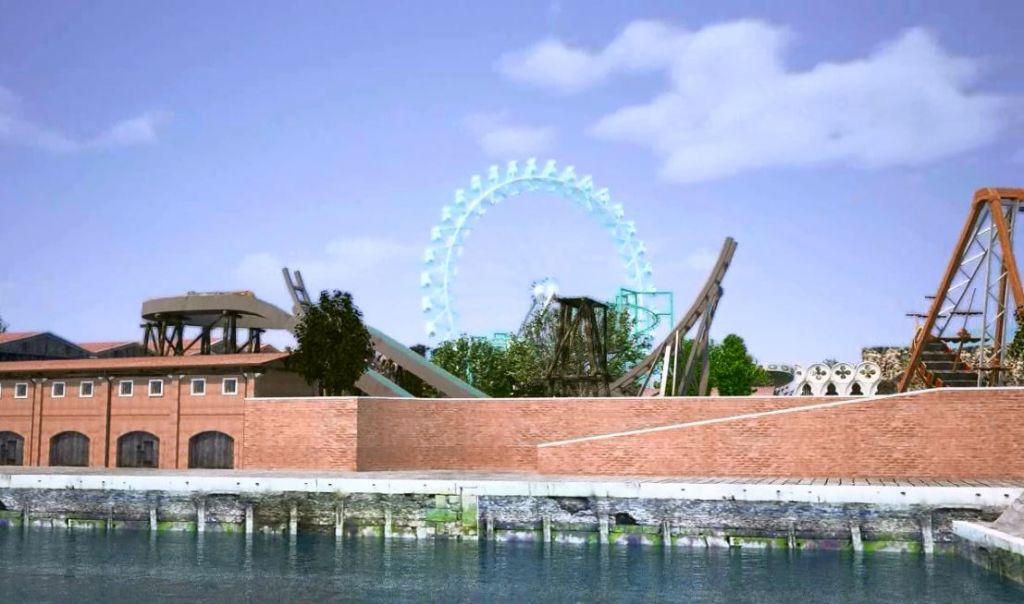 Progetto di parco tematico nella laguna di venezia - Parco di porta venezia ...