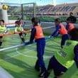 """Acqua Village Cecina e Follonica: iniziativa """"Human Football"""""""