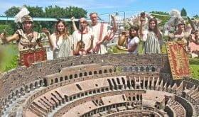 italia miniatura Toga_Colosseo