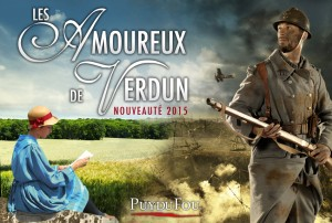 puy du fou the loves of verdun locandina