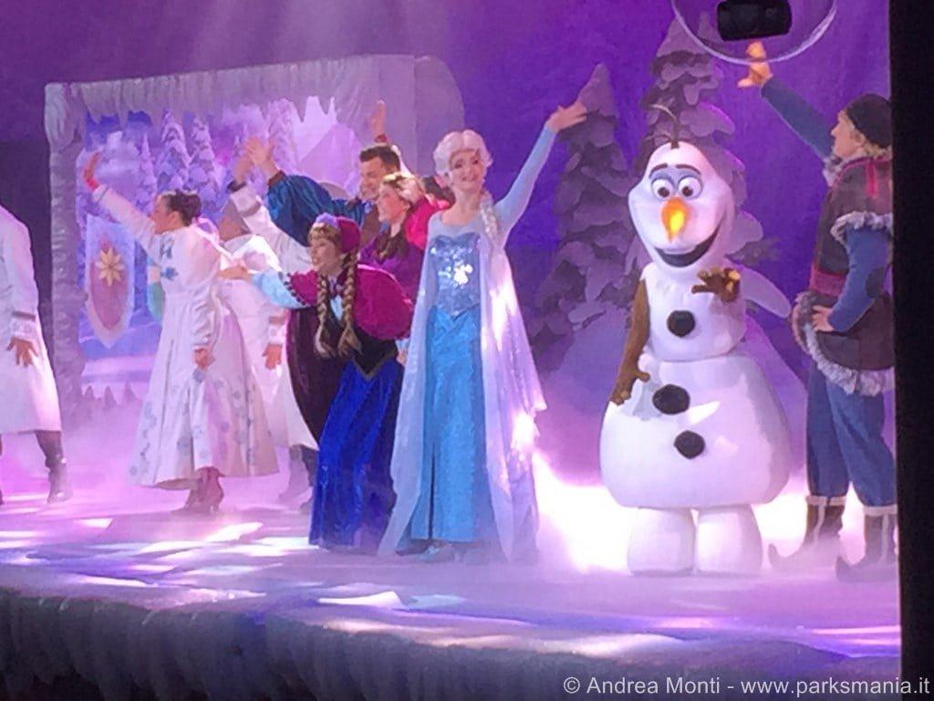Disneyland paris il nuovo show dedicato a frozen for Show a paris