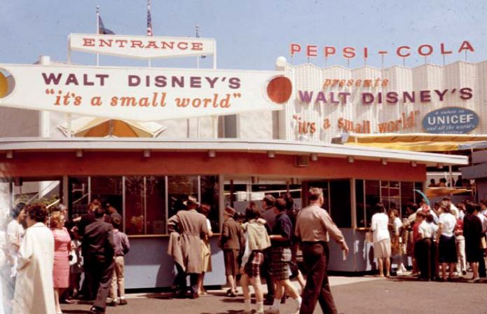 its a small world world fair 1964