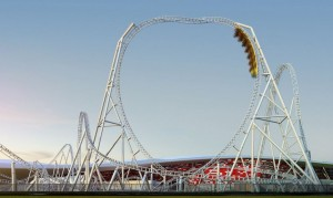 ferrari world flying aces test