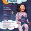 italia miniatura figli delle stelle pigiama party