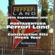 Ferrari Land PortAventura: video POV dei lavori in corso