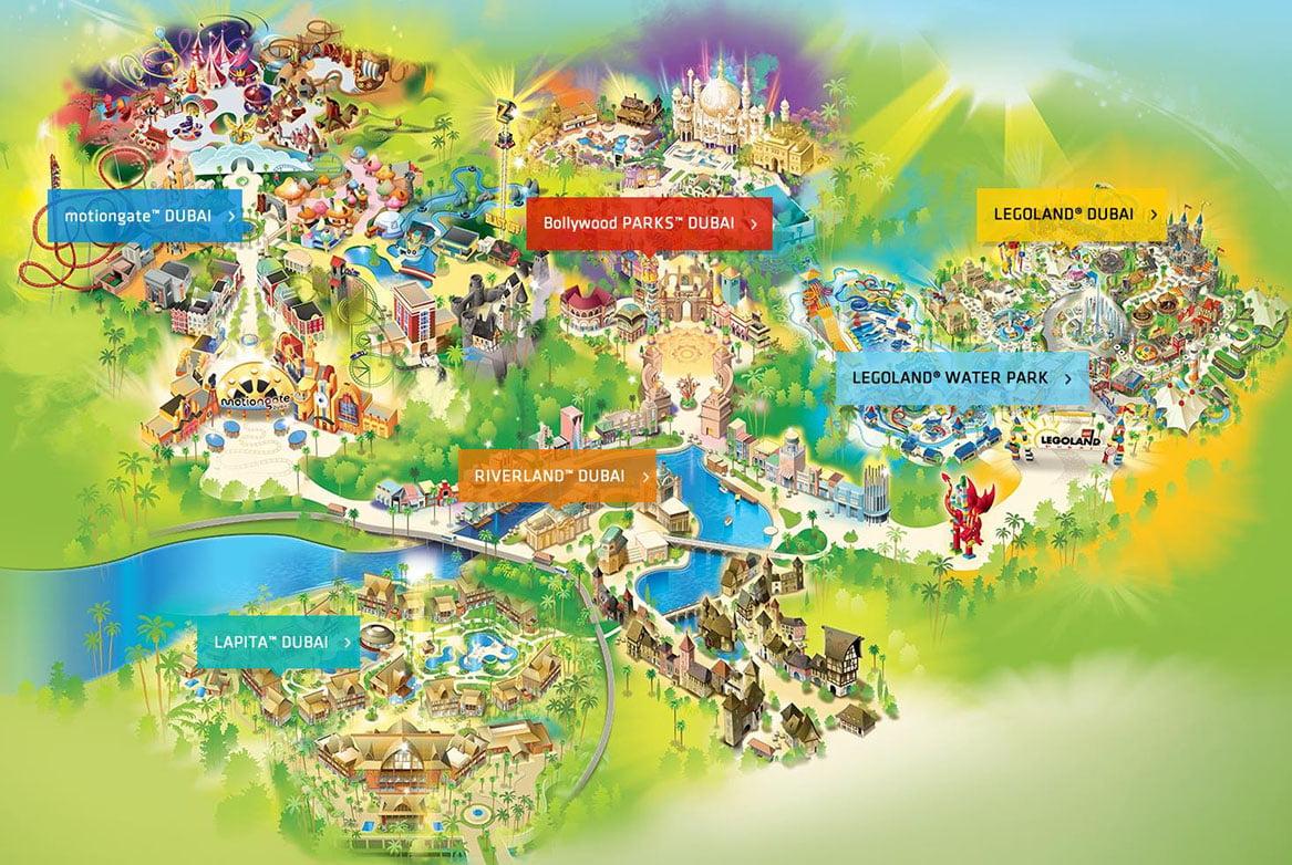 Dubai In Arrivo Il Quinto Parco A Tema Parksmania