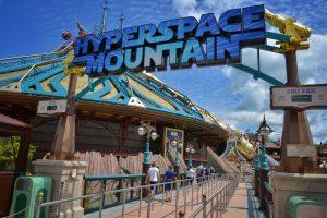 Hyperspace Mountain Esterno