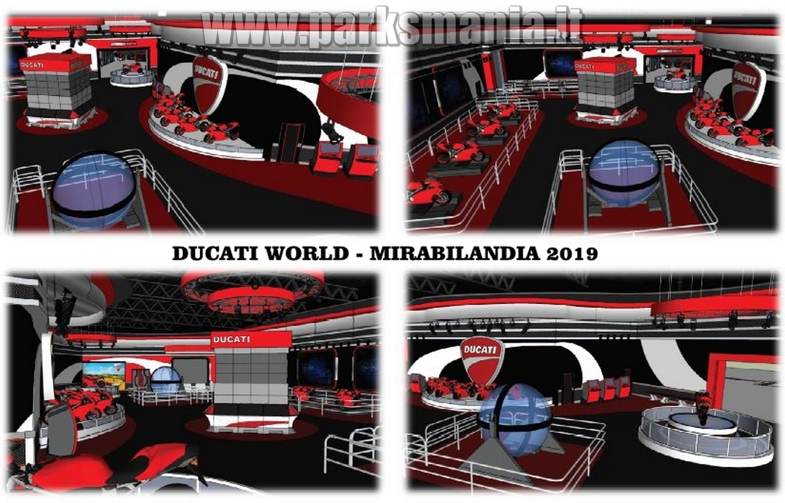 mirabilandia nouveaut 2019 ducati world. Black Bedroom Furniture Sets. Home Design Ideas