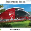 "Mirabilandia: i rendering di Ducati World e ""Superbike Race"""