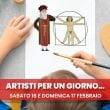 """Città della Scienza: """"Artisti per un giorno"""""""