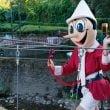 Parco di Pinocchio: bambini e genitori impersonano Pac-Man