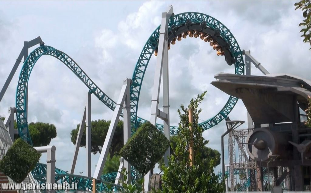 Cinecitt 224 World Il Video Del Rollercoaster Quot Altair