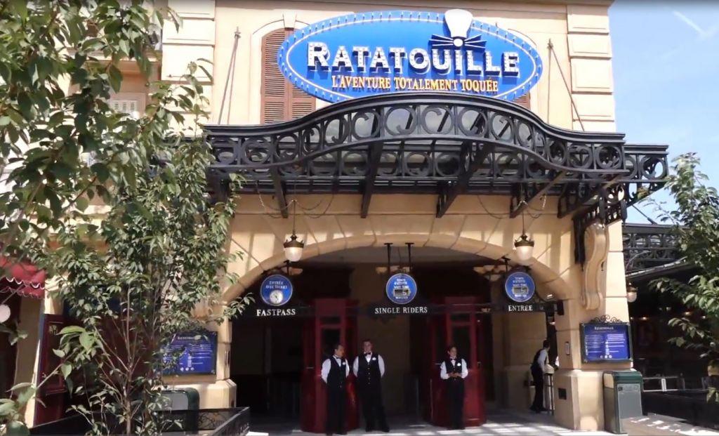 Ratatouille the adventure implementazione esecuzione for Miglior ristorante di parigi