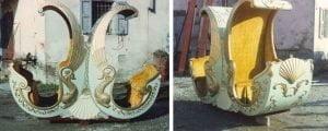 tamagnini armando Foto prototipo Gondole della Giostra a Cavalli a due Piani 3