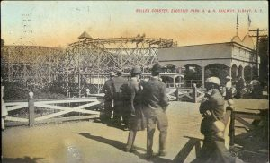 STREETCAR-TROLLEYPARK-Roller_Coaster__Electric_ParkALBANY-NY