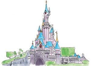castello disneyland