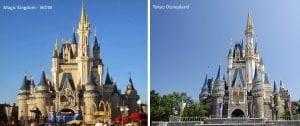 Cinderella castle wdw - tokyo